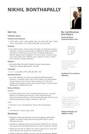 Administration Sample Resume by Windows Sys Administration Sample Resume 20 System Administrator