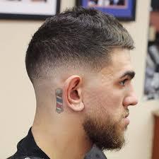 mens short fade hairstyles mens fade haircut styles tin tin model