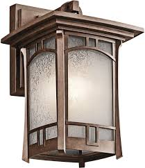 Kichler Lighting Outdoor Kichler 49450agz Soria 1 Light 11 75 Outdoor Medium Wall In Aged