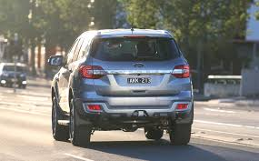 Ford Everest Facelift 2017 Ford Everest Pricing And Specs New Entry Model Sync 3 Goes