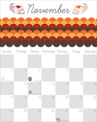 free printable organizing calendar