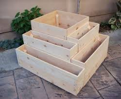 20 Inch Planter by Hand Crafted Wood Planter
