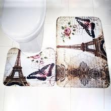 Paris Bathroom Rug Paris Bathroom Set Promotion Shop For Promotional Paris Bathroom
