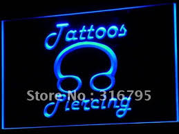 led lights for body shop i484 tattoos piercing ring body shop led neon light sign on off
