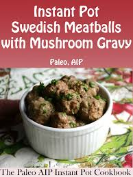 turkey mushroom gravy recipe details the paleo aip instant pot cookbook review recipe and giveaway