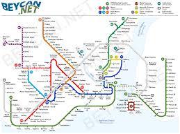 Rome Metro Map by სტამბოლის ახალი ტრამვაი U2013 მე