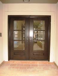 Exterior Door Companies Modern Wood Door Knotty Alder 3 Lite Panel Bottom Entry