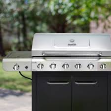 Char Broil Outdoor Patio Fireplace by Char Broil Convective 6 Burner Grill Stainless Steel Black