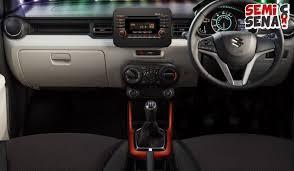 Suzuki Ignis Interior Harga Suzuki Ignis Review Spesifikasi U0026 Gambar November 2017