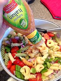 pasta salad styled by jess