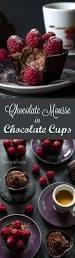 best 25 chocolate mousse cups ideas on pinterest dessert cups
