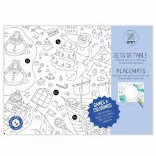 coloring placemats kids coloring placemats omy desing and play children s
