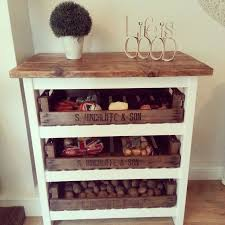 Kitchen Storage Shelves by Best 25 Vegetable Storage Ideas Only On Pinterest Onion Storage