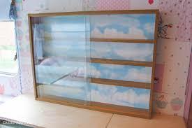 Caravan Interior Storage Solutions My Little Vintage Caravan Diy Display Cabinet Makeover