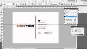 visitenkarten design erstellen visitenkarte in indesign erstellen tutorial vorlage teil 2 2