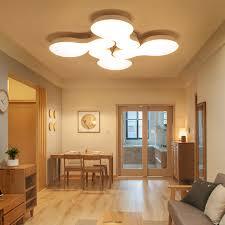 deckenle esszimmer einfache moderne blume form led deckenleuchte schlafzimmer
