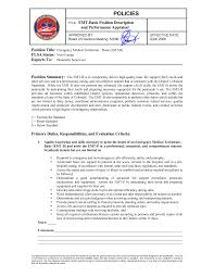 emt resume template 28 images ems management lieutenant