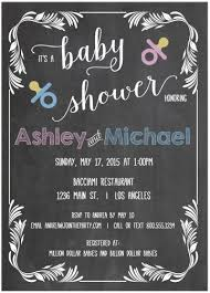baby shower chalkboard invitations party ideas fresh baby shower designs