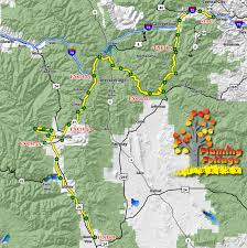 Foliage Map Flaming Foliage Relay Run Leadville Leadville Today