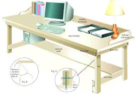 how to make a child s desk how to build a simple desk office office desk build your own