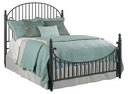 kincaid furniture weatherford catlins metal queen bed package with
