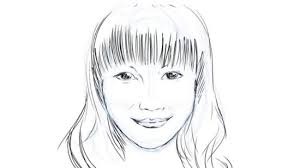 how to draw the face of a person 13 steps with pictures