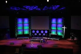 church stage decoration ideas creative church stage designs