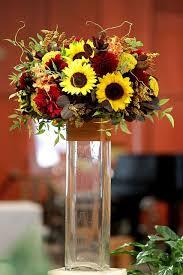 Centerpieces With Sunflowers by 75 Best Sunflower Arrangements Images On Pinterest Sunflower