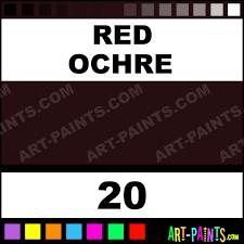 red ochre setacolor transparent fabric textile paints 20 red