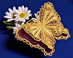 machine embroidery designs k lace 3d with organza