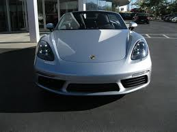 silver porsche boxster 2017 porsche boxster in washington for sale used cars on buysellsearch