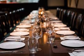 dinner table dinner table for large group picture of palio s restaurant at the