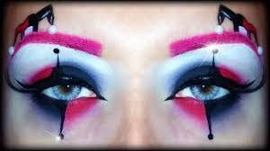 Eye Halloween Makeup by Harley Quinn Easy Halloween Makeup Tutorial Inspired By