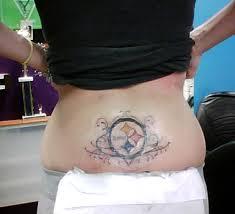 pittsburgh steelers tattoos steelers logo tattoo gallery of