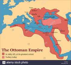 Beginning Of Ottoman Empire The Ottoman Empire At Its Greatest Extent In 1683 And Turkey