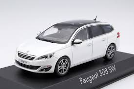 peugeot model 2013 peugeot 308 sw 2013 pearl white die cast model norev 473821