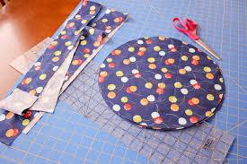 How Do I Make Cushion Covers Simple Round Cushion Tutorial