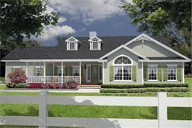 one level house plans with porch ranch style house plans with wrap around porch interior