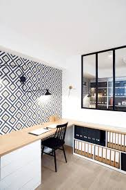 bureau traiteau bureau treteau luxe aménagement de bureaux du studio elo cottin