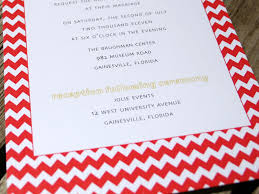 where to get wedding invitations camille andrew s chevron and linen wedding invitations