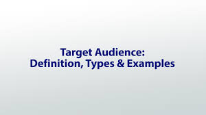 What Is The Best Definition Of A Targeted Resume by Target Audience Definition Types U0026 Examples Video U0026 Lesson