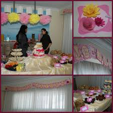 high tea themed baby shower