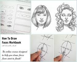 miss danielle renee how to draw faces workbook free sample