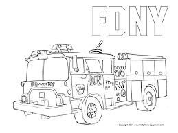 firefighting equipment kids fire safety fire truck