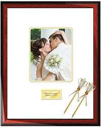 wedding autograph frame personalized signature frame wedding retirement
