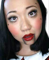 halloween marionette doll makeup with clarins tutorial and