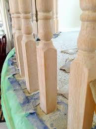 Sanding Banister Spindles Michelle Paige Blogs Before And After Of Painting A Banister