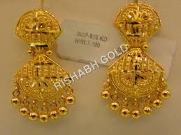 gold jhumka earrings gold jhumka earrings gold jhumka earrings exporter manufacturer