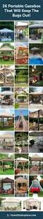 Small Red Bugs On Patio by Best 25 Portable Gazebo Ideas On Pinterest Outdoor Canopy