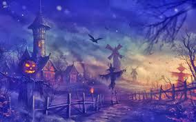 blue halloween background scary halloween wallpaper live wallpaper hd desktop wallpapers